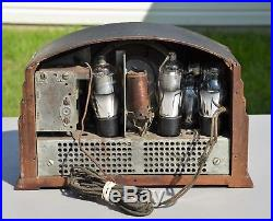 VTG (1932) Emerson 25A Compact BC AM Tube Radio Receiver
