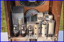 VTG (1933) General Electric K-80 Broadcast Tombstone Tube Radio Receiver NICE