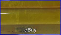 VTG 1937 BABY FADA 5F60 RADIO-YELLOWithBUTTERSCOTCH CATALIN/BAKELITE-ORIGINAL KNOB