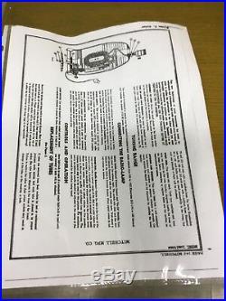 VTG 1941 LUMITONE MITCHELL 1260 BAKELITE TUBE RADIO LAMP REWIRED WORKS WithPAPERS