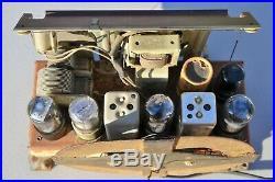 VTG (1946) Bendix 0526A Broadcast AM Tube Radio Receiver