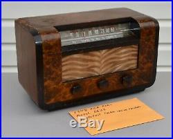 VTG (1946) RCA Victor 66X3 AM Broadcast & Shortwave Tube Radio IT WORKS