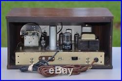 VTG (1949) Meissner 8C Brewster FM Tuner Tube Radio Receiver