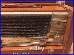 VTG 1950s RCA-Victor 7-BX- Strato-World II Transoceanic Tube Radio, ShortWave