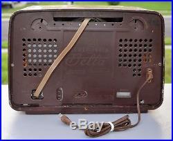 VTG (1958) Loewe Opta Bella Luxus Fonovox Type 05711W BC & Shortwave Tube Radio