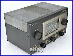VTG Hallicrafters S-53A Tube AM Band Shortwave SWL Amateur Radio Receiver WORKS