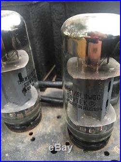 VTG Homemade USA RUSSIAN Tube RADIO AM FM Amplifier Transformer PRESS WIRELESS