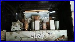 VTG Mid Century Arcadia Model 42 Bakelite Radio Parts or Restore Project Canada