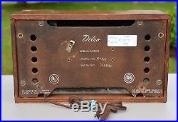 VTG Working (1946) Delco R-1229 Broadcast Tube Radio Receiver