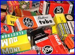 Vacuum Tube Grab Bag! Nice Vintage Lot of (100) NOS Tubes, RADIO, HAM, TV