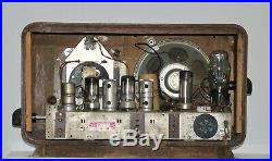Vacuum Tube Radio vintage retro wooden collectible home decor Kosmaj 49