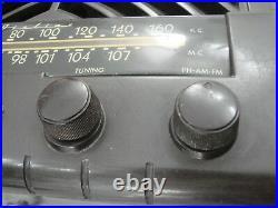 Vintage1940s Wards Airline Radio Model 15BR-1535B Tube Radio Working