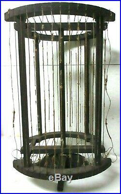 Vintage 1920s RCA RADIOLA tube radio AG-814 LOOP ANTENNA 24 x 17 ORIGINAL