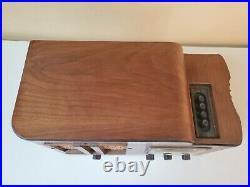 Vintage 1940 Sentinel Table Top Tube Radio Model # 203 UL + 3 Radio Books