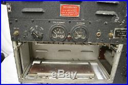 Vintage 1940's Signal Corp Ww2 Radio Transmitter Bc191f Bc-191-f (4)vt4c Tubes