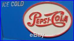 Vintage 1948 Pepsi Cooler Antique Blue Soda Cola Machine Pcr-5 Rca Tube Radio