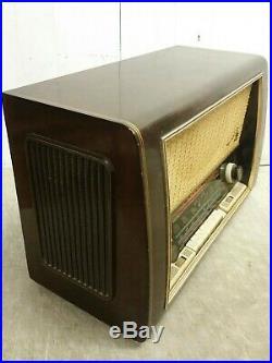 Vintage 1950 Blaupunkt Granada 3D Type 2330 Short Wave Tube Radio, Exceptional