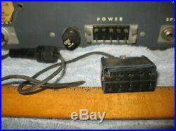 Vintage 1950's Globe Electronics All Tube CB Radio CB 200 Mic withmounts HAM