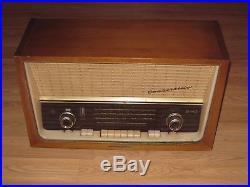 Vintage 1959 Telefunken Concertino 5093W Super Heterodyne Stereo Tube Radio