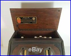 Vintage Antique Radio 1925 RCA Radiola 20 5 Tube Table Top