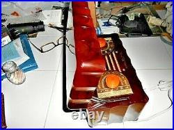 Vintage Art Deco General Electric Catalin radio L622 Jewel box restored Nice