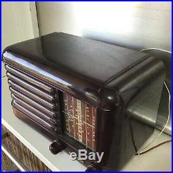 Vintage Australian Bakelite Radio Wireless Airzone NR Excellent Condition