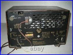 Vintage Blaupunkt AM FM SW Table Radio Bakelite Tube TYP 21053 Germany rare