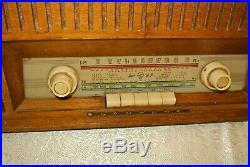 Vintage Blaupunkt Tube AM / FM / SW Radio Model Paris 22153 Good Working Cond