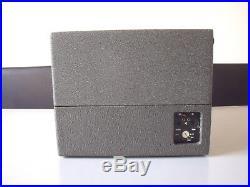 Vintage Braun PCV4 portable turntable 1961 Dieter Rams Modernist