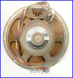 Vintage CROSLEY PRESTOTUNE 12 model 1217 Working 12 FIELD COIL SPEAKER