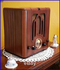 Vintage Crosley AM/SW Fiver Tube Radio 515 (1935) RESTORED & BEAUTIFUL