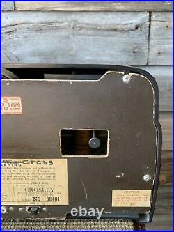 Vintage Crosley Dashboard Radio