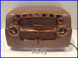 Vintage Crosley Model E-15-tn Tube Radio Mid-century