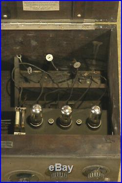 Vintage Cutting & Washington 11-B Vacuum Tube Regenerative Radio 1924 Johnstown