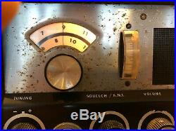 Vintage Demco Ravelle 23 Vacuum Tube CB Radio Powers Up RARE