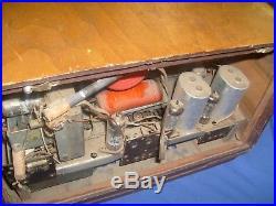 Vintage EMUD tube Shortwave & Broadcast AM/FM Radio (As Is)