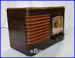 Vintage Emerson Tube Radio BF-204 (1938) COMPLETELY & BEAUTIFULLY RESTORED