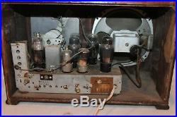 Vintage Emerson Tube Radio Model DP332 WORKING