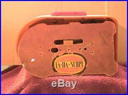 Vintage FADA bullet radio tag says model 115