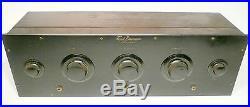 Vintage FREED EISEMANN NR-5 RADIO no tubes BAKELITE FRONT Bold & Impressive