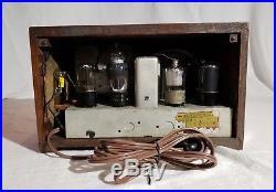 Vintage Firestone The Melody Ingraham AM Tube Radio S-7403-5 RESTORED