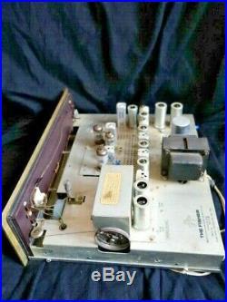 Vintage Fisher Model FM-100-B Tube Radio Tuner