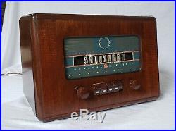 Vintage GE AM Radio Walnut Cabinet (1941) RARE, BEAUTIFUL AND RESTORED