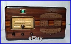 Vintage GE F 74 AM/SW Magic Eye Radio (1937) RESTORED & STUNNING