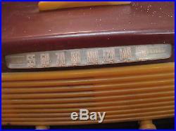 Vintage Garod Bakelite Tube Radio Model 6AU-1 Restore or Parts