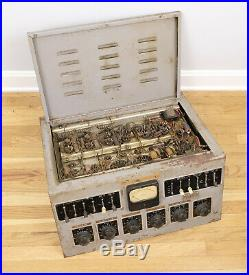 Vintage Gates Vacuum Tube Radio Broadcast Studio Console MIC Mixer Amp Preamp