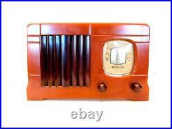Vintage Gem Mint Motorla Old Antique Insert Grille Catalin Tube Radio Rear Cover