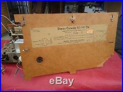 Vintage Grundig Fleetwod Tube Stereo Receiver Radio So 141ca
