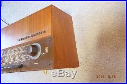 Vintage Grundig Majestic Tube BC FM SW Radio 2147U, W Germany