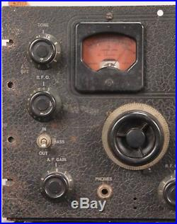 Vintage HALLICRAFTERS Model SX-28A Super SKYRIDER Tube HAM